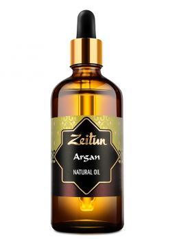 Масло Арганы натуральное (прямого холодного отжима) ZEITUN 100 мл