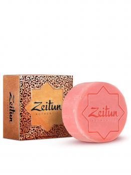"""Алеппское мыло экстра """"Дамасская роза"""". Для чувствительной кожи ZEITUN, 105 гр."""