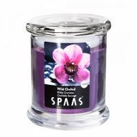 Свеча в стакане АРОМА ПРЕМИУМ SPAAS Дикая орхидея 9/11см (60ч)