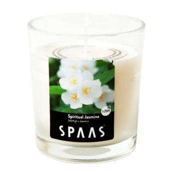 Свеча в стакане SPAAS  Божественный жасмин (25ч)