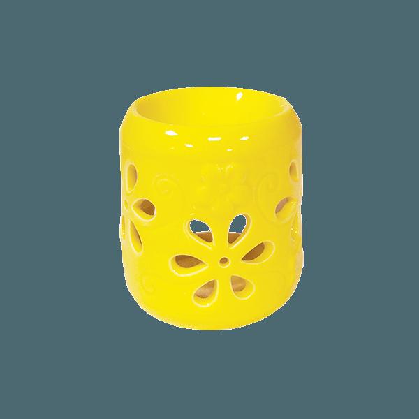 Аромалампа Медуница 8 см желтая