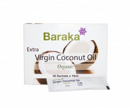 Кокосовое масло Органик Био BARAKA