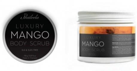 Скраб для тела манго  PRAILEELA