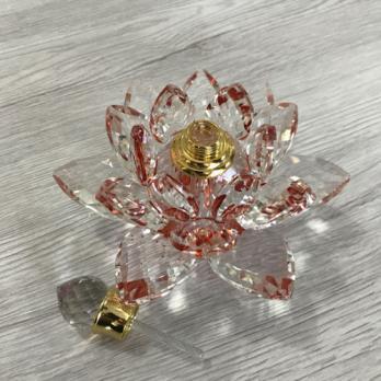 Флакон хрустальный Цветок 3 мл F621