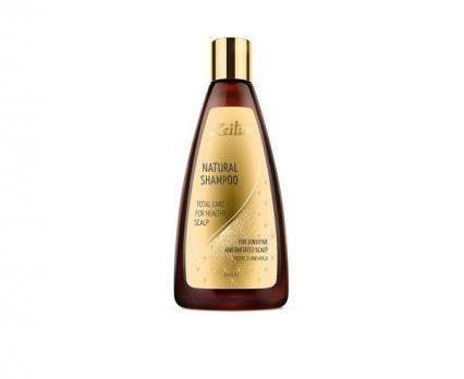 """Шампунь для волос """"Комплексный уход для здоровья кожи головы"""". С прополисом и амлой ZEITUN 250 мл"""