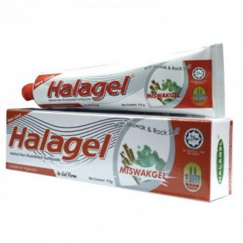 Зубная паста-гель HALAGEL c эктрактом мисвака 100 гр.