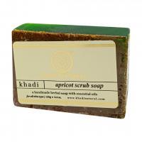 Натуральное мыло-скраб с маслом абрикоса KHADI NATURAL, 125 г