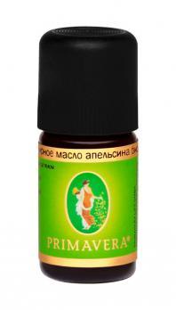 Эфирное масло апельсина био PRIMAVERA, 5 мл
