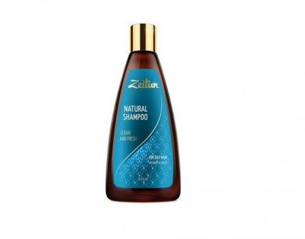 """Шампунь для волос """"Здоровье и свежесть"""".Для жирных волос. С экстрактом мирры ZEITUN, 250 мл"""