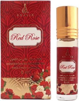 Масляные духи RED ROSE KHALIS 6 мл