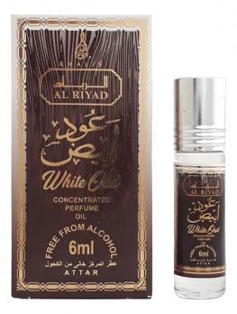 WHITE OUD AL RIYAD концентрированные масляные духи Khalis Perfumes