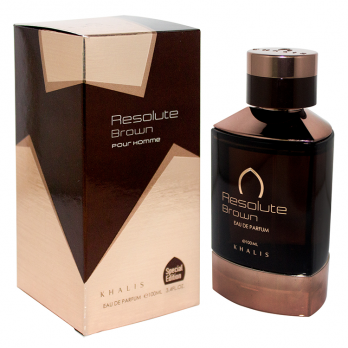 RESOLUTE BROWN POUR HOMME парфюмерная вода Khalis Perfumes