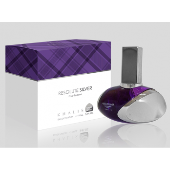 RESOLUTE SILVER POUR FEMME парфюмерная вода Khalis Perfumes
