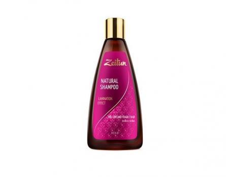 """Шампунь для волос """"Эффект ламинирования"""". Для тонких и хрупких волос. С иранской хной ZEITUN"""