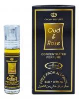 Масляные духи AL REHAB OUD&ROSE