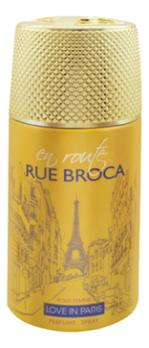 Парфюмировпанный дезодорант LOVE IN PARIS RUE BROCA