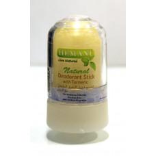 Минеральный дезодорант с кукурмой HEMANI