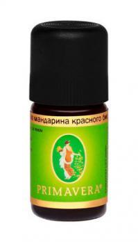 Эфирное масло мандарина красного био PRIMAVERA, 5 мл